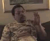 Jesse Prince, previously second- in- command at Scientology. Picture is copyright 1999 by Xenu TV